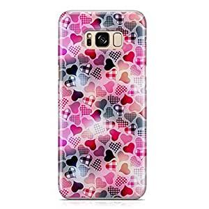 Samsung S8 Case Heart Love Pattern Pattern Great For Girls Cute Design Sleek Finish Durable Samsung S8 Cover Wrap Around 69