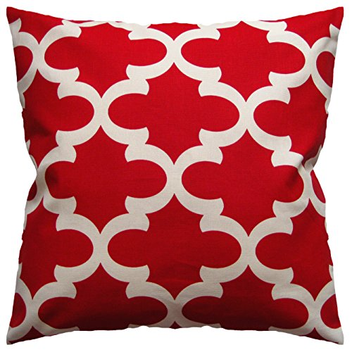 Amazoncom Jinstyles Accent Decorative Throw Pillow Cover Square