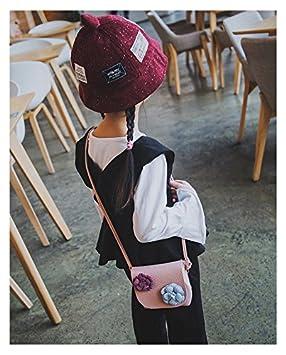 b2b92abbc5b Charmly Cute Fashionable Handbag Shoulder Bags Small Coin Purse Crossbody  Bags PU Leather for Children Kids Girls Toddler Baby Girls Little Girls Pink -Cat ...