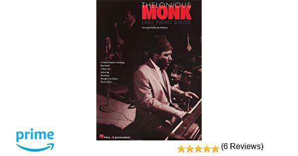 Thelonious monk easy piano solos ronnie mathews 9780793587599 thelonious monk easy piano solos ronnie mathews 9780793587599 amazon books fandeluxe Gallery