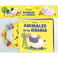 SONAJEROS. ANIMALES DE LA GRANJA (LIBRO DE TELA/SONAJERO)