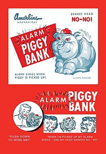 - Alarm Piggy Bank 28x42 Giclee on Canvas
