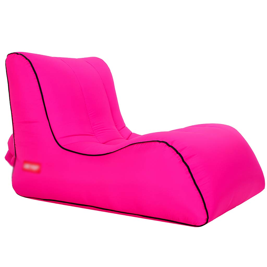 I 1208080cm HEKQ Matelas gonflables Chaise Gonflable d'air Sofa Chaise Longue Sofa Gonflable de l'eau pli portatif de Haute qualité extérieur d'intérieur 30 Styles (Couleur   C, Taille   65  55  50cm)