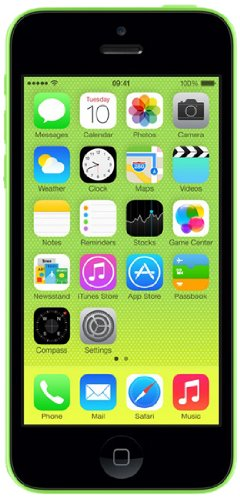 Apple iPhone 5C 16 GB Unlocked, Green