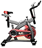 Leeway Spin Bike| Exercise Fitness Spinning Bike| Spine Fitness Equipment| Exercise Cycle For Home Gym| Indoor Cycle| Trainer Fitness Bike| Gym Bike (Imported)