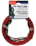 Hartz Tie Out Cable for Dogs up to 100lbs - 20ft