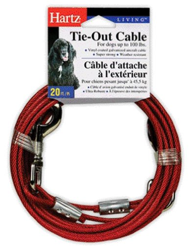 Hartz Tie Cable Dogs 20 Feet product image
