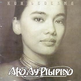 ako ay pilipino Ako ay pilipino ang dugo'y maharlika likas sa aking puso adhikaing kay ganda sa pilipinas na aking bayan lantay na perlas ng silanganan wari'y.