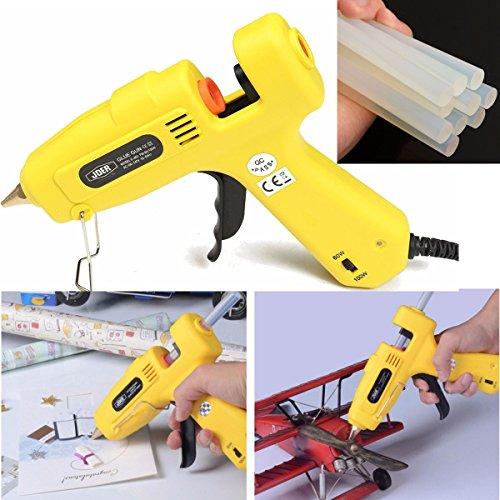 100-240V 60W/100W Pro Hot Melt Glue Gun Sticks Heater Heating Gun DIY Repair (Diy X Ray)