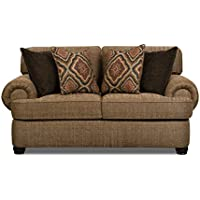 Simmons Upholstery 7533BR-02 Shelby Multi Loveseat