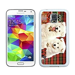 Personalization Christmas Doggies White Samsung Galaxy S5 Case 1
