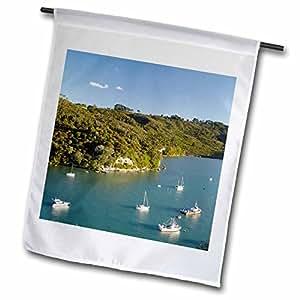 Danita Delimont - Harbors - Boats, Whitianga Harbor, North Island, New Zealand-AU02 DWA6274 - David Wall - 12 x 18 inch Garden Flag (fl_72521_1)