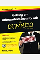 Getting an Information Security Job For Dummies Paperback