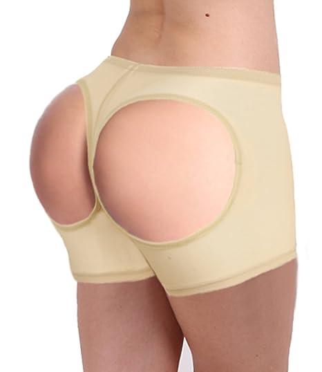 ce6ed43c298 Lelinta Women s Butt Lifter Panties Shapewear Boy Shorts Enhancer Shaper  Panty at Amazon Women s Clothing store