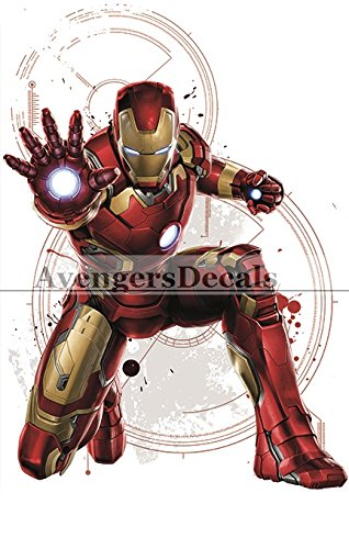 Iron Man Wall Decals