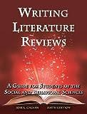 Writing Literature Reviews 9781936523375