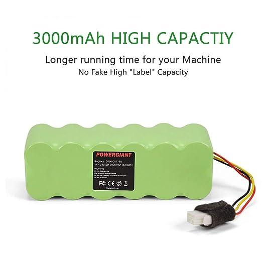 POWERGIANT 14.4V 3.0Ah Ni-MH Batería para Samsung Navibot SR8855 SR8845 SR8750 SR8730 SR8825 SR8874 VCR8845 VCR8895 DJ96-00113C DJ96-00136B: Amazon.es: ...
