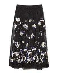 Uterque Mujer Falda organza 0313/258 (Medium)