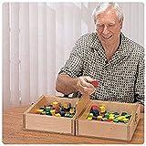 Box & Bblock 081187590 Prueba de caja y bloque, prueba de destreza manual