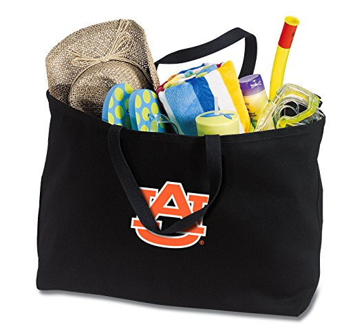 Broad Bay Jumbo Auburn University Tote Bag or Large Canvas Auburn Shopping Bag