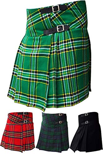 (AAR Womens Ladies Billie Kilt Skirt 16