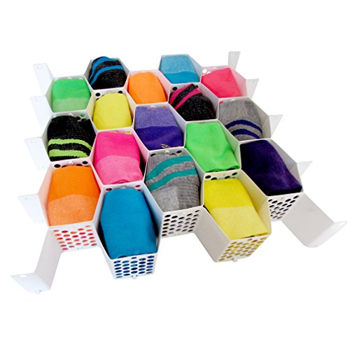 Evelots 3138 Honeycomb Drawer Organizers product image