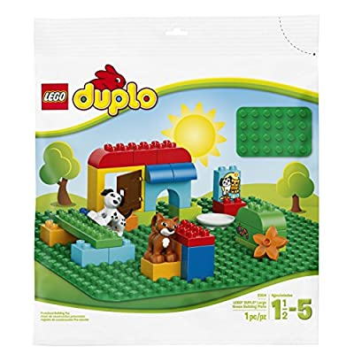 LEGO DUPLO My First Large Green Building Plate 2304 Building Kit: Toys & Games
