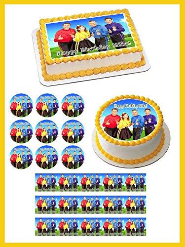 (WIGGLES NEW Edible Cupcake Topper - 1.8