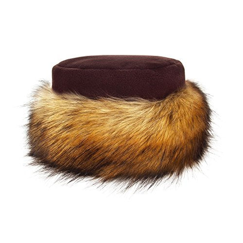 6df8135f3d8 Futrzane Faux Fake Fur Hat with Fleece Russian Cossack Winter Ladies Women  - Buy Online in Oman.