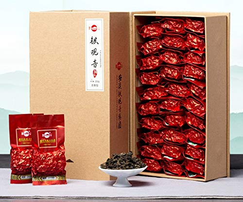 (Anxi Tieguanyin Fengshan Roasted Floral Scent with Succulent Rich Flavor Supreme Oolong Tea New Tea 250g vacuumed packaging凤山安溪铁观音浓香型)
