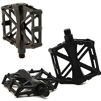 Semoss 2 Piezas Universal Pedales MTB Automaticos Aluminio Pedales ...
