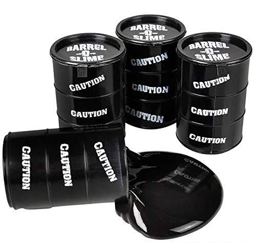 Rhode Island Novelty Black Barrel-O-Slime | One Barrel per Order |