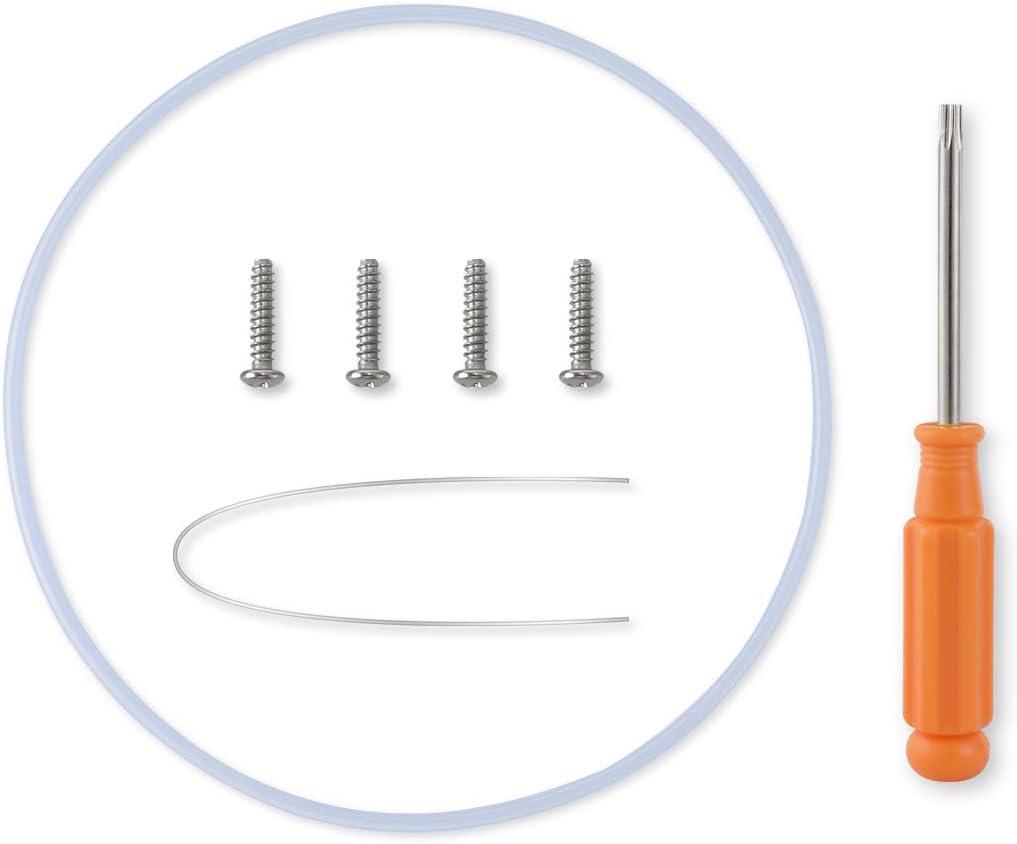 AIEVE Juego de reparación de juntas de bomba y tornillos, para lavavajillas Bosch, con destornillador (junta interior de 180 mm de diámetro)