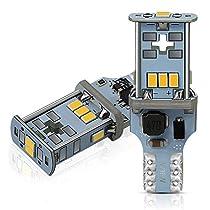 AUXITO T16 LED バックランプ 爆光1300ルーメン キャンセラー内...