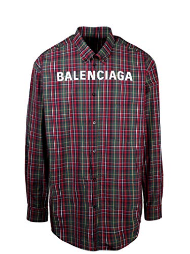 Balenciaga Luxury Fashion Mens 583989TGM316067 Multicolor Shirt | Fall Winter 19