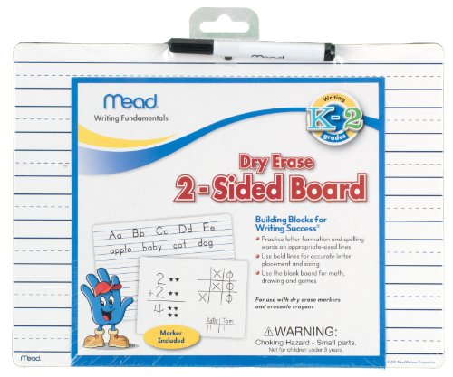 (Mead Dry Erase 2-Sided Board, 9x12-Inches (54188) )