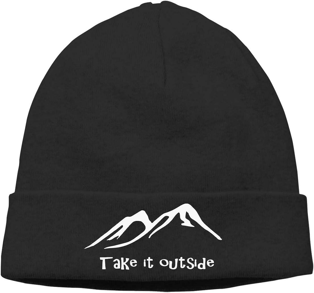 BBlooobow Unisex Take It Outside Soft Knit Hats