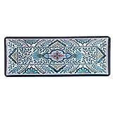"Certified International Talavera Melamine 19"" x 8"" Rectangular Platter, Multicolor"