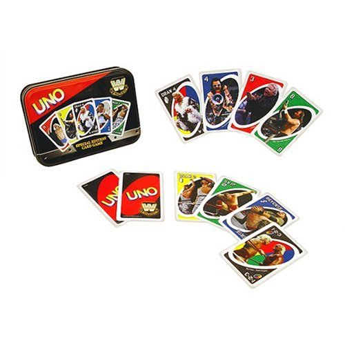 UNO - WWE Legends of Wrestling Version by Sababa Toys