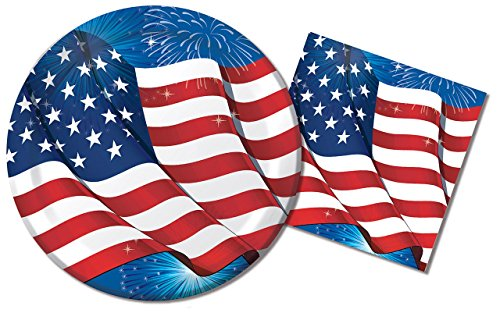4th of July Plates - 4th of July Store