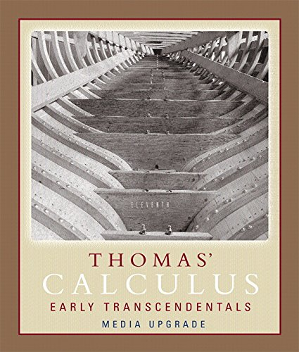 Thomas' Calculus, Early Transcendentals, Media Upgrade, Part One (11th Edition) (Pt. 1)