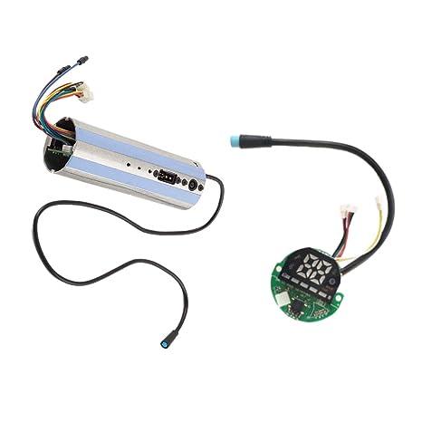 SODIAL Controlador De Scooter Eléctrico Tabler Piezas De Scooter para Ninebot Es1 / Es2 / Es4