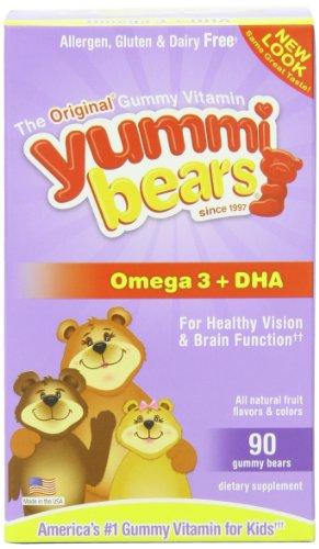 Hero Nutritional Products - Yummi Bears DHA, 90 comptage