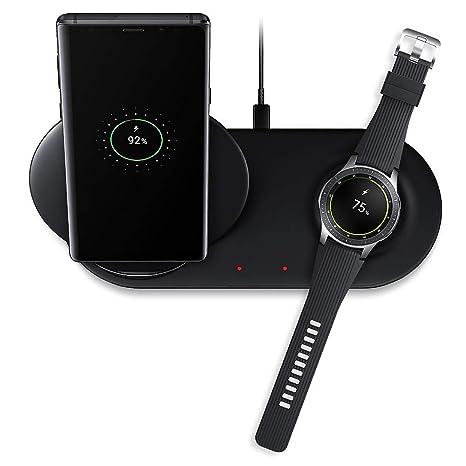 Bibao - Cargador inalámbrico 2 en 1 para Samsung Galaxy Note ...