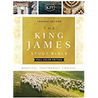 The King James Study Bible: King James Version, Full Color Edition