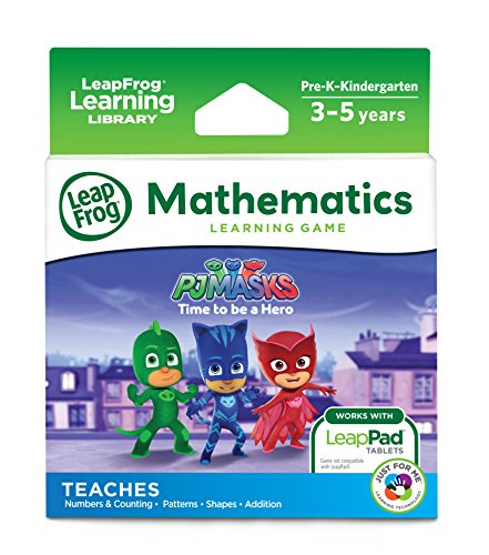 LeapFrog LeapPad Cartridge PJ Masks (Best Leappad Games For 3 Year Old)