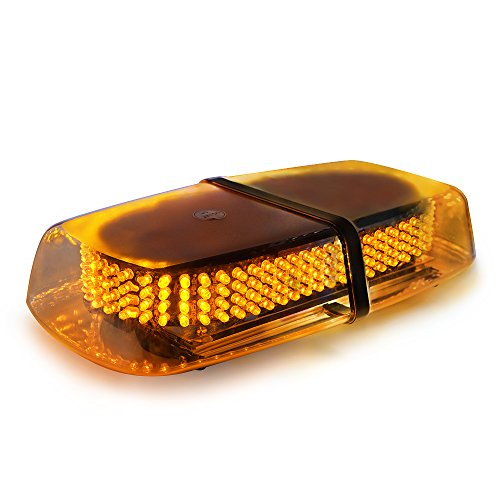 Led mini light bar amazon xprite amber 240 led roof top mini bar truck car vehicle law enforcement emergency hazard beacon caution warning snow plow safety flashing strobe light mozeypictures Image collections