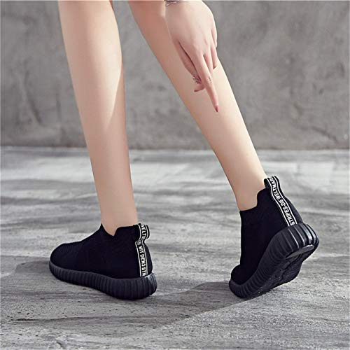 Basse Scarpe Yoga Comodi Donna Sneaker Running Ginnastica Traspiranti Palestra Tempo Sportive Stringate Causal Gym Nero Da Per Libero Il Antiscivolo Moda AtArw1q