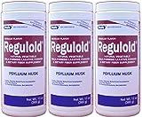 Reguloid Psyllium Husk Natural Vegetable Bulk Forming Laxative Fiber Supplement Powder Generic for Metamucil 13 oz. per Bottle Pack of 3