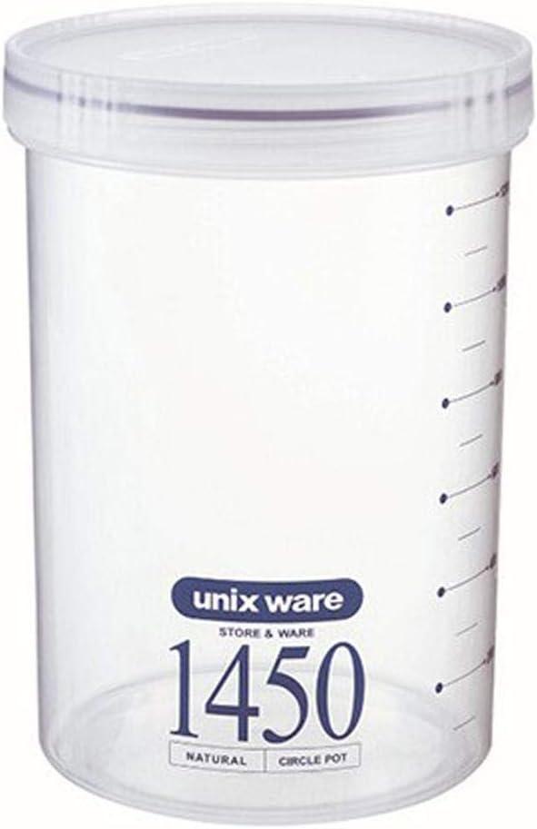 Sunronal Luxuri/öse versiegelte Plastikdose Frischhaltefach Aufbewahrungsbox Gew/ürz Cruet Spice Jar